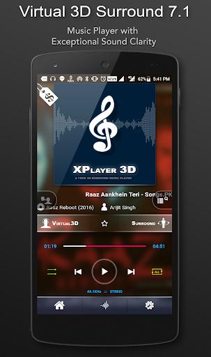 3D Surround Music Player 1.7.01 Screenshots 1
