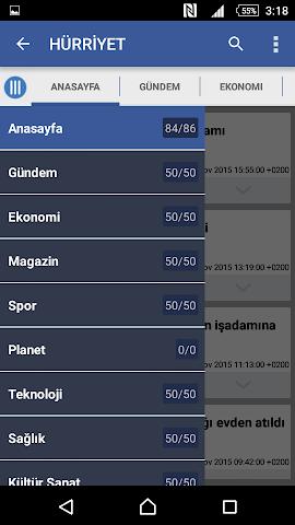 android Türkiye Haber Screenshot 5