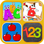 Preschool Learning - ABC, Number, Color Games