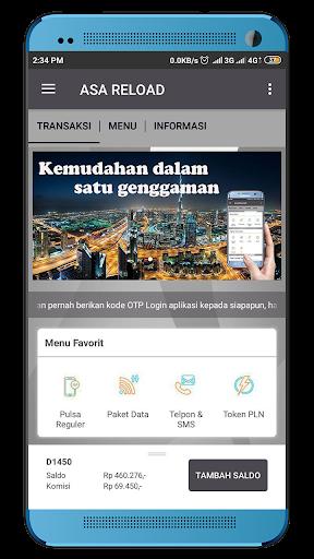 Asa Reload (LoketPULSA) screenshots 2
