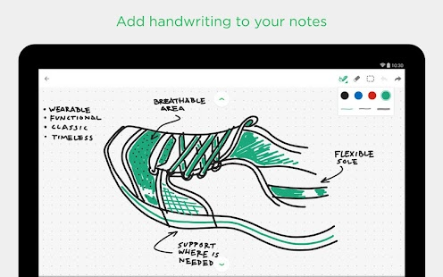 Evernote- screenshot thumbnail