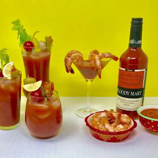 Smoky Bacon Bloody Mary Cocktail Sauce Recipe