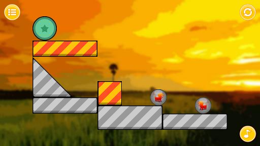 Lion Zooballs Physics Game