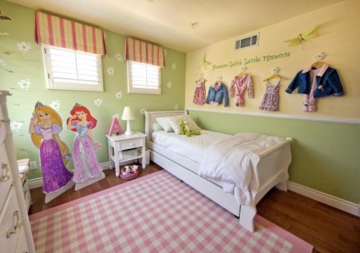 Bedroom Little Girls Decoration screenshot 2