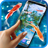 Koi Fish HD Live Wallpaper