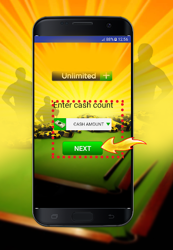 Coins and Cash for 8 ball Pool Prank 2.4 screenshots 3