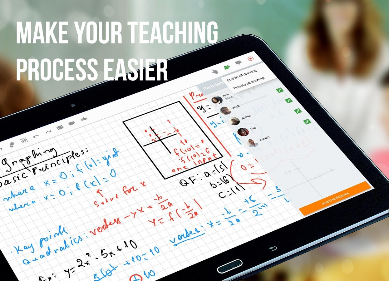 Best Free Apps For Teachers Educreations Interactive Whiteboard Smart Kids