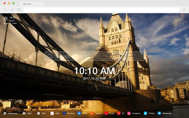 European Architecture New Tab HD Themes