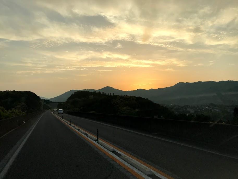 東九州道 大分県臼杵市