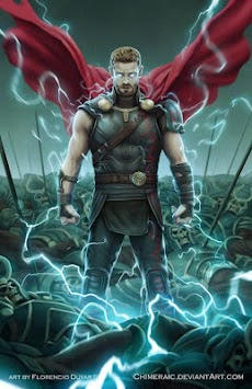 Superhero Thor Wallpaper HD Poster
