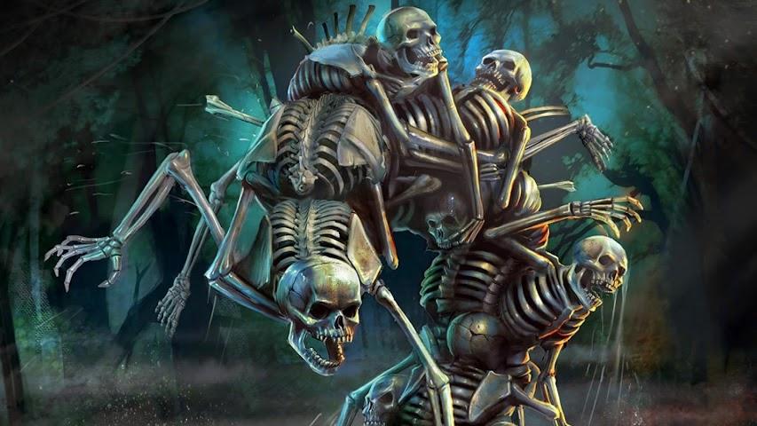 android Skeleton Live Wallpaper Screenshot 0