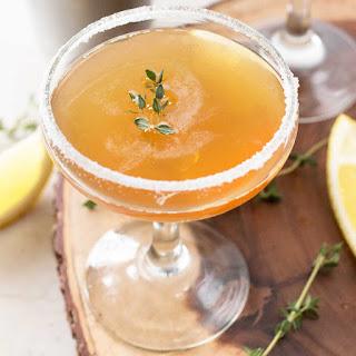 Lemon Thyme Sidecar