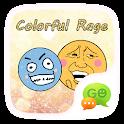 (FREE)GOSMS COLOR RAGE STICKER icon