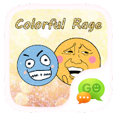 (FREE)GOSMS COLOR RAGE STICKER