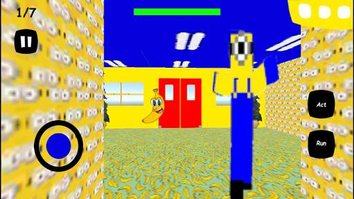 Scary Yellow Teacher Banana Screenshot