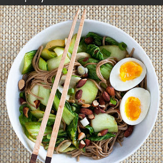 Spicy Soba Noodle Bowl with Egg