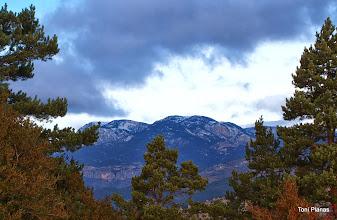 Photo: Serra del Verd i Serra del Gall