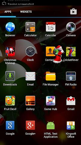 android Santa On Live Screen Screenshot 1