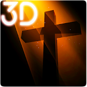 3D Cross Parallax Live Wallpaper