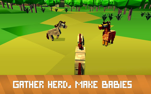 Blocky Horse Simulator modavailable screenshots 11