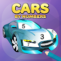 Super Duper - Cars Coloring by Numbers icon