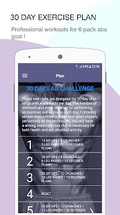 Six Pack Training - 30 Days challenge - náhled