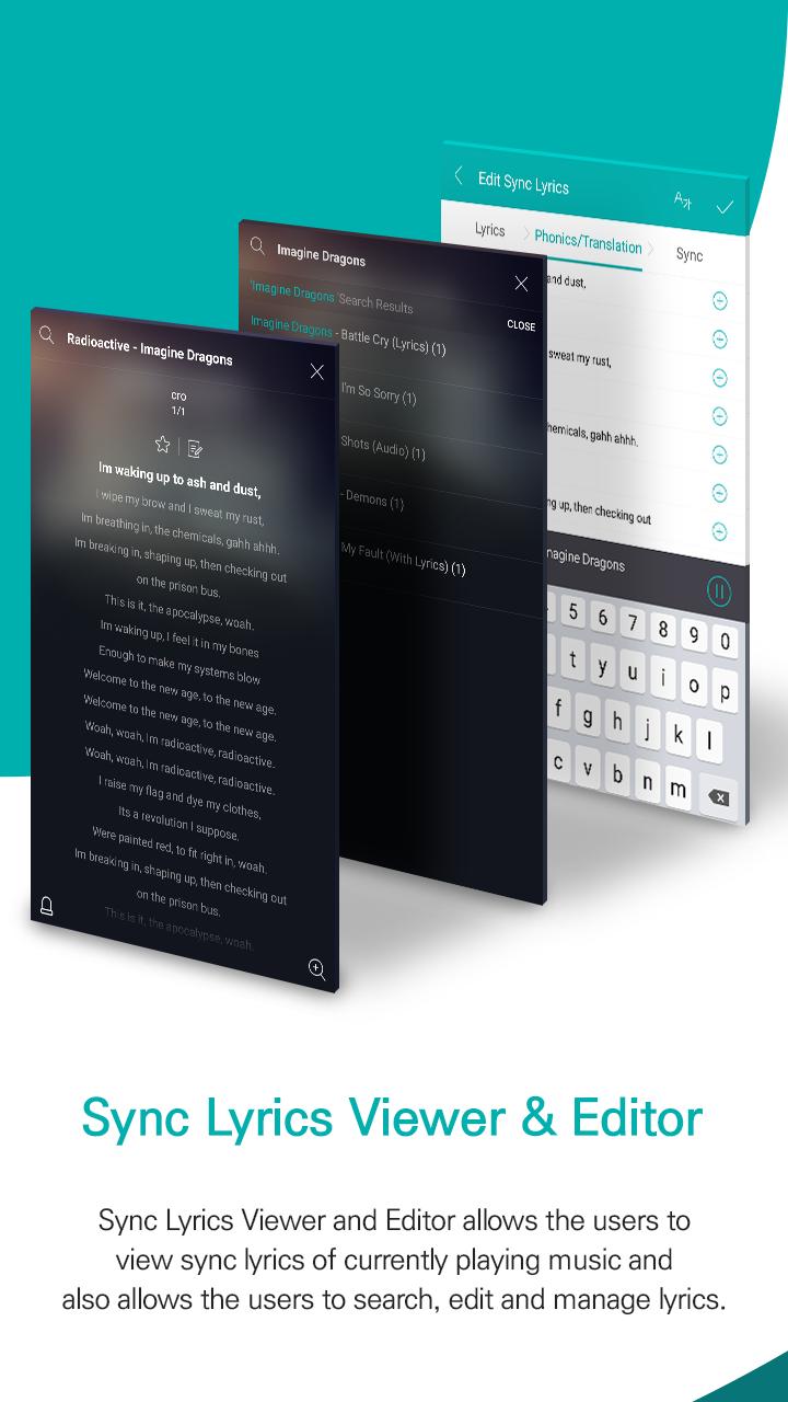 GOM Audio Plus - Music, Sync lyrics, Streaming Screenshot 8