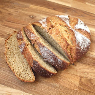 100% Whole Wheat Free-Form Artisan Bread.