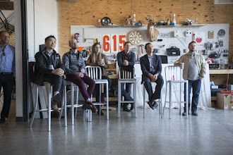 Photo: Tour of Nashville Innovation Companies. RedPepper, Skillery, and lunch at Butchertown Hall. AMBA students tour some of the most innovative idea labs in the city. website and marketing materials.Photo by Joe Howell