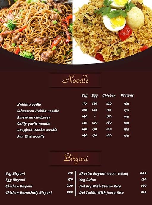 Food Studio menu 7