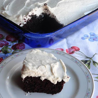 Blue Ribbon Chocolate Cake.