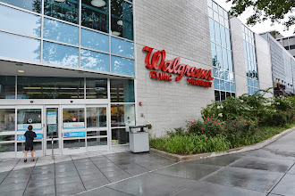Photo: So I wanted to go check out this Walgreens Healthcare Clinic in Washington DC to see what kinds of services they offered.