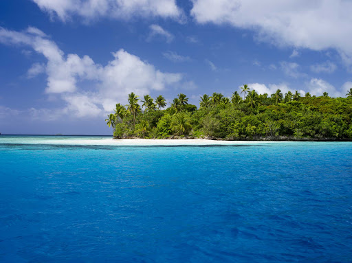 Stroll the lush beaches of Tonga.