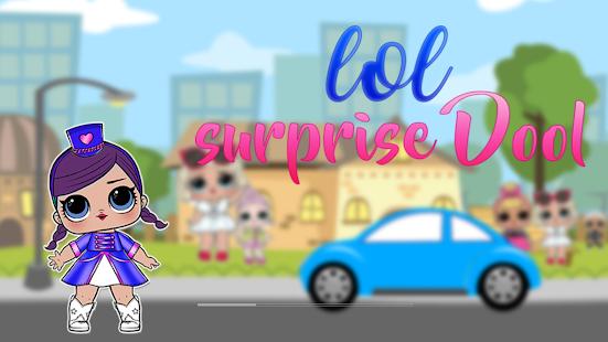 Super Lol dolls surprise Run - náhled