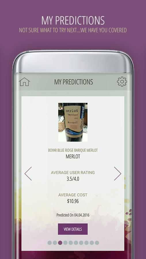 Predict My Wine- screenshot