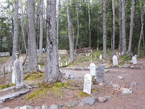 Photo: Skagway goldrush cemetery
