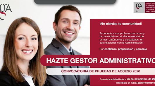 ¿Quieres un futuro como gestor administrativo?