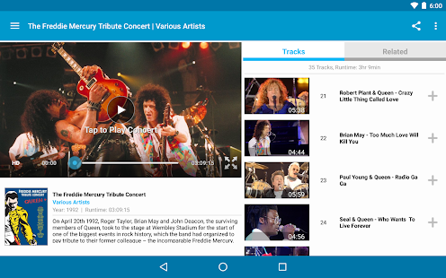Qello Concerts Screenshot 14