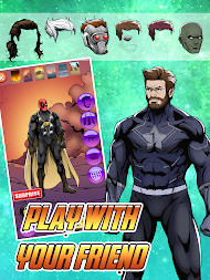 Create your Own Avenger Infinity Wars Hero APK screenshot thumbnail 4