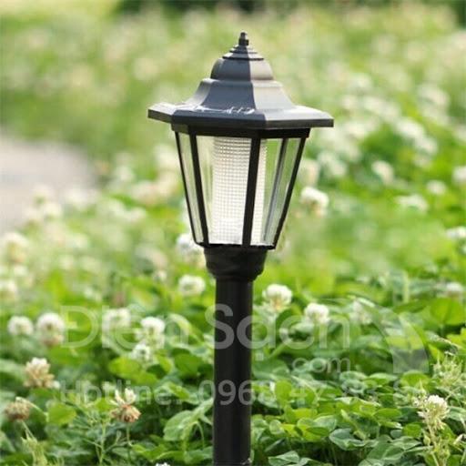 Đèn năng lượng mặt trời sân vườn 1LED
