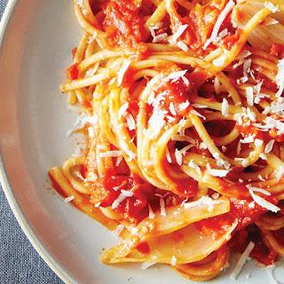 Spaghetti al Pomodoro from the Chefs at Eataly.