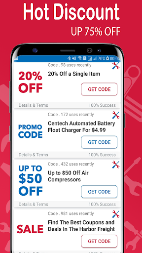 Coupon For Harbor Freight Tools - Smart Promo Code 1 0 APK