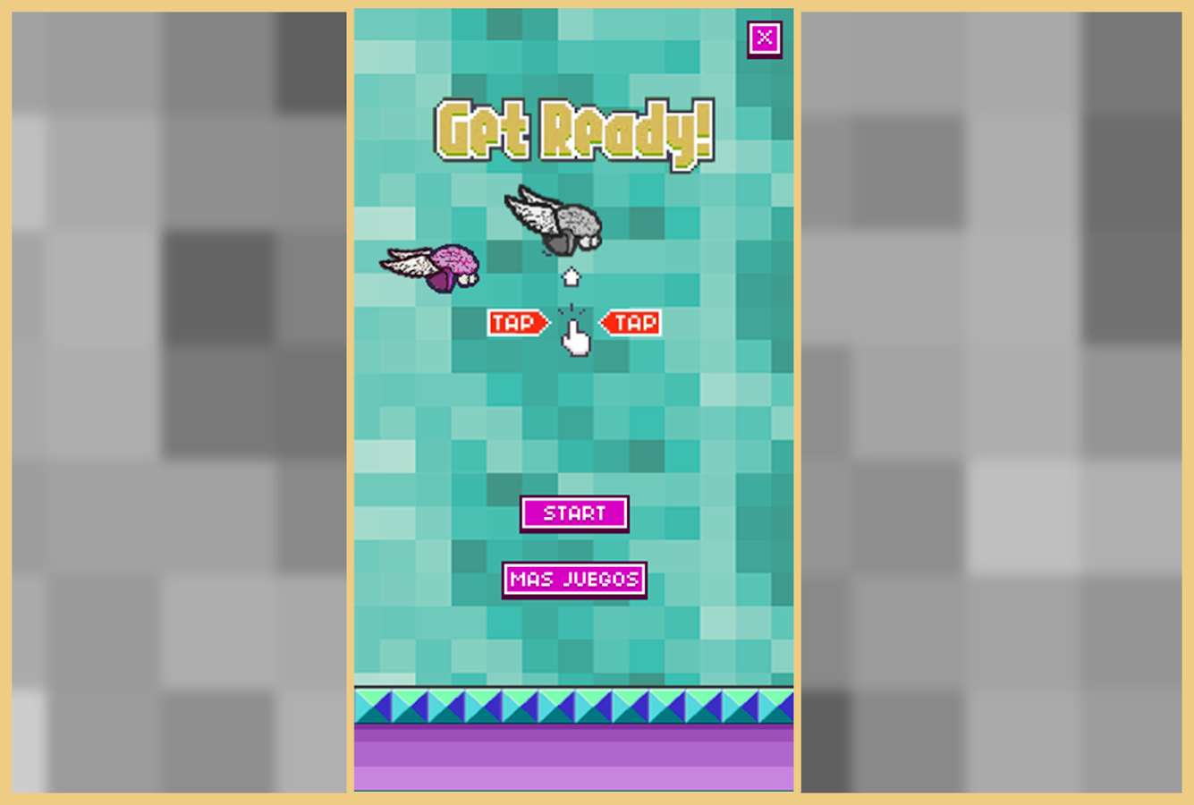 Flappy Brainky- screenshot