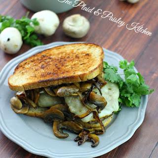 Mushroom Swiss Patty Melt