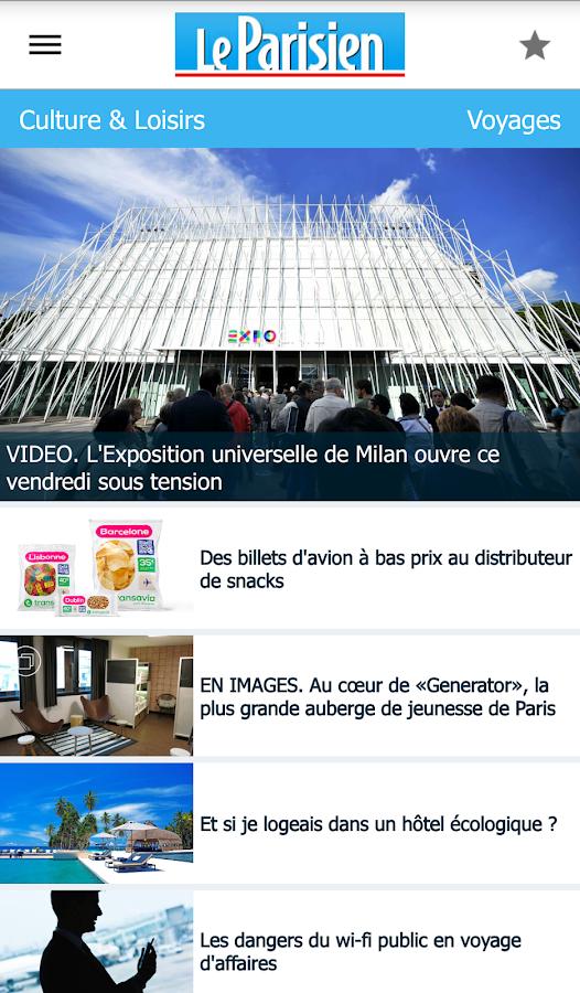 Le Parisien - Info France- screenshot