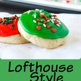 Lofthouse Style Soft Frosted Sugar Cookies.