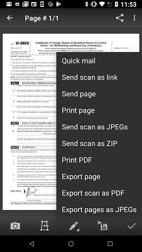 Mobile Doc Scanner (MDScan) Lite screenshots 4