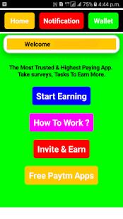 India Money: Free Paytm Cash - náhled