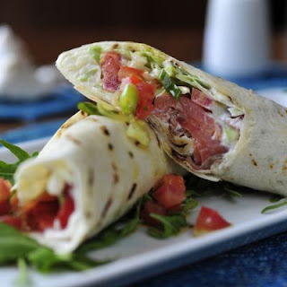 Quick and Easy BLT Wrap