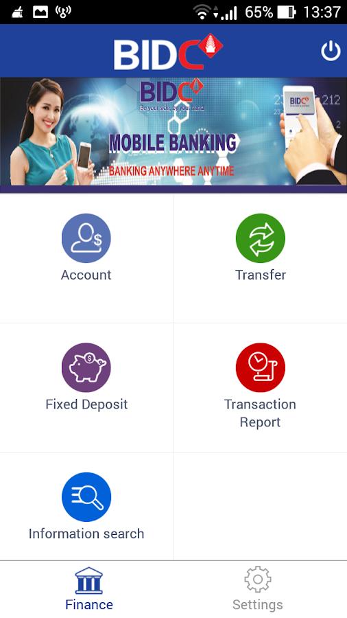 BIDC MOBILE BANKING CAMBODIA